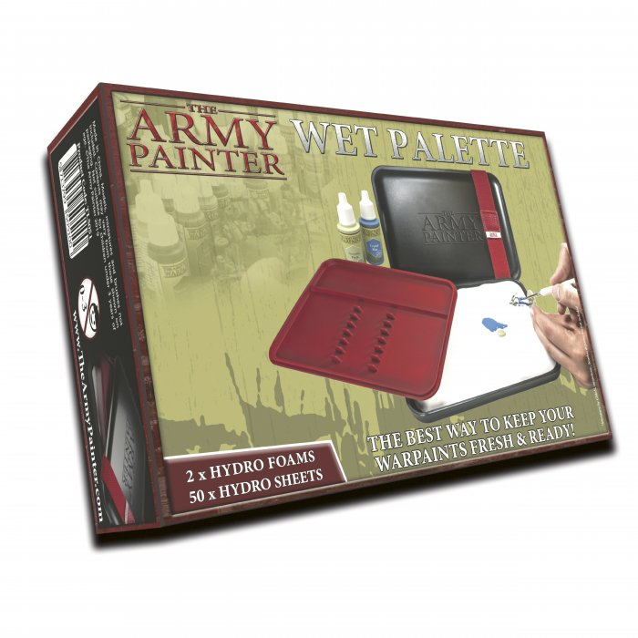 Coming soon -Army Painter Wet Palette