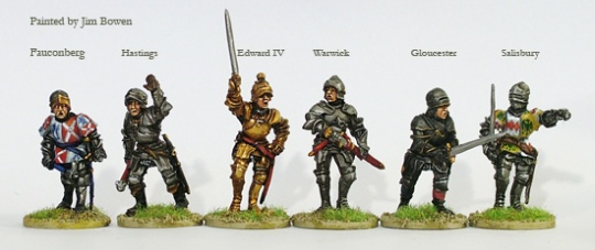 Yorkist Command and Warwick on foot - Metal