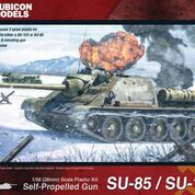 Soviet SU-85 / SU-122 Self Propelled Gun