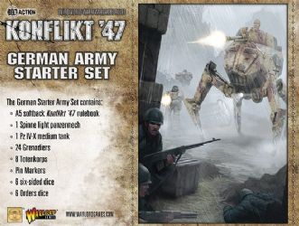 Konflikt 47 German starter set