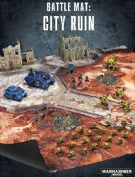 Battle Mat: City Ruin Over 20% discount