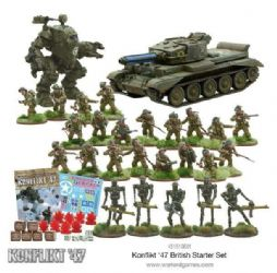 British Konflikt 47 Starter set 20% discount.