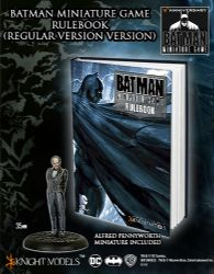 BMG RULEBOOK Batman Cover + Alfred