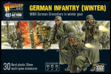 German Infantry (Winter) Plastic Box Set - 25% Off Black Friday
