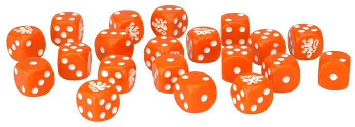 Team Yankee Dutch Dice (x20)