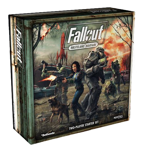 Fallout Two Player PVC Starter Set