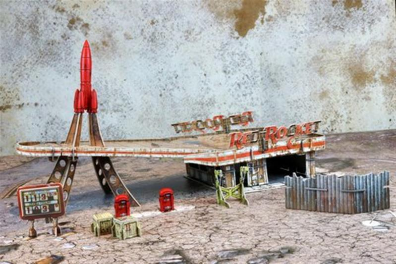 Fallout: Red Rocket Scenic Set