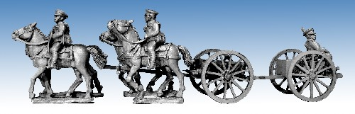 British Cavalry Machine Gun Wagon