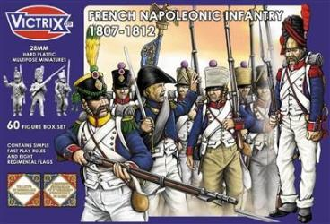 French Napoleonic Infantry 1807 - 1812