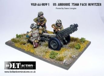 US Airborne 75mm Pack Howitzer