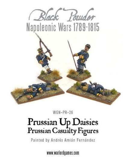 Prussian Up Daisies - Landwehr Casualties