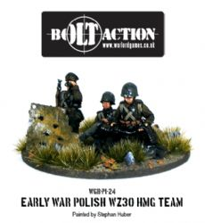 Early War Polish WZ30 HMG Team