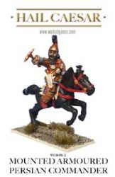 Mounted Armoured Persian Commander