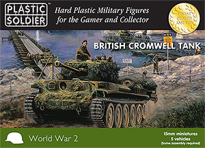 15mm WW2 British Cromwell Tank