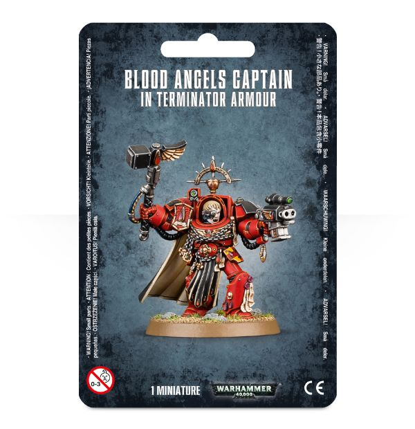 Blood Angel's Captain in Terminator Armour