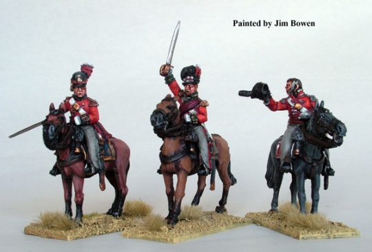 Mounted British Colonels - Metal