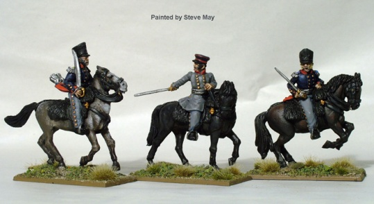 Mounted Field Officers - Metal