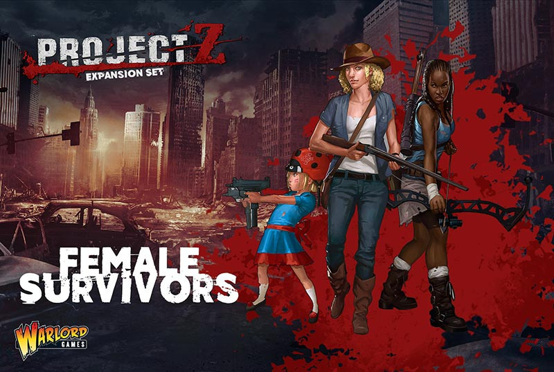 PROJECT Z - Female Survivors Expansion Set
