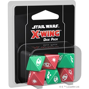 X-wing 2nd Edition Dice Pack