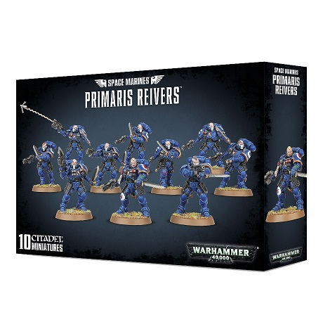 Space Marine Primaries Reivers (10)