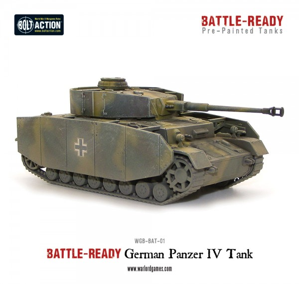 Panzer IV Battle Ready Tank - Pre painted