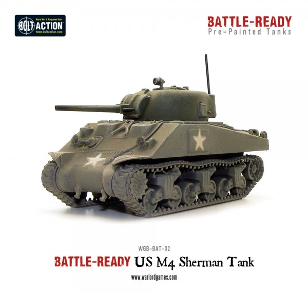 M4A3 Sherman Battle Ready Tank - Pre painted