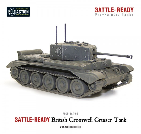 Cromwell Battle Ready Tank - Pre painted