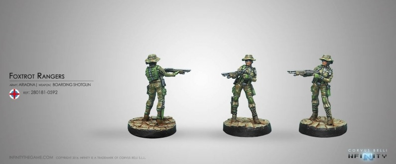 Foxtrot Rangers with Boarding Shotgun