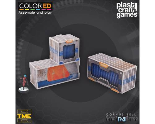 Pre-Painted TME Containers Set