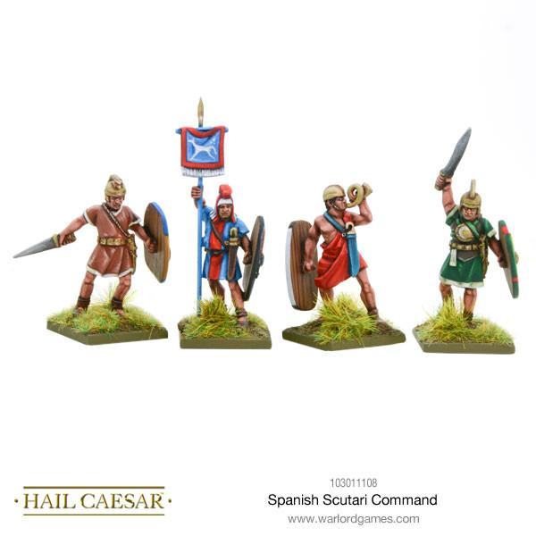 Spanish Scutarii command