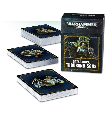 Data cards: Thousand Sons