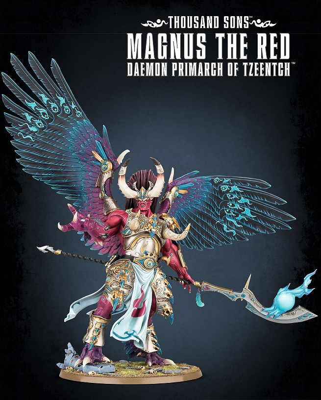 Magnus The Red Daemon Primarch of Tzeentch