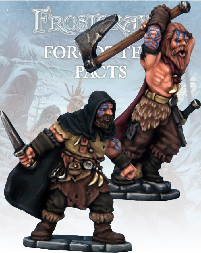 Barbarian Thief and Berserker