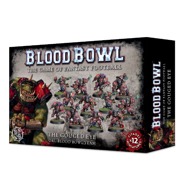 Blood Bowl - The Gouged Eye Team (Orcs)