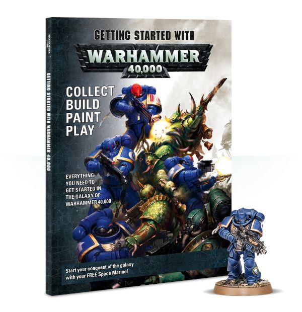 Getting Started with Warhammer 40.000 magazine