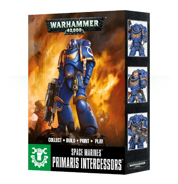 Easy to Build: Primaris Intercessors
