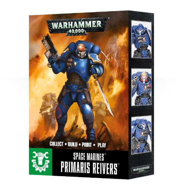 Easy to Build: Primaris Reivers
