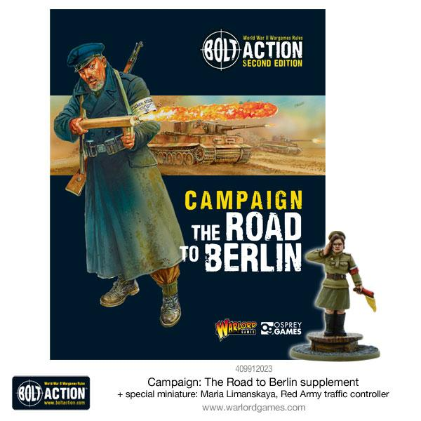 The Road To Berlin Campaign Book