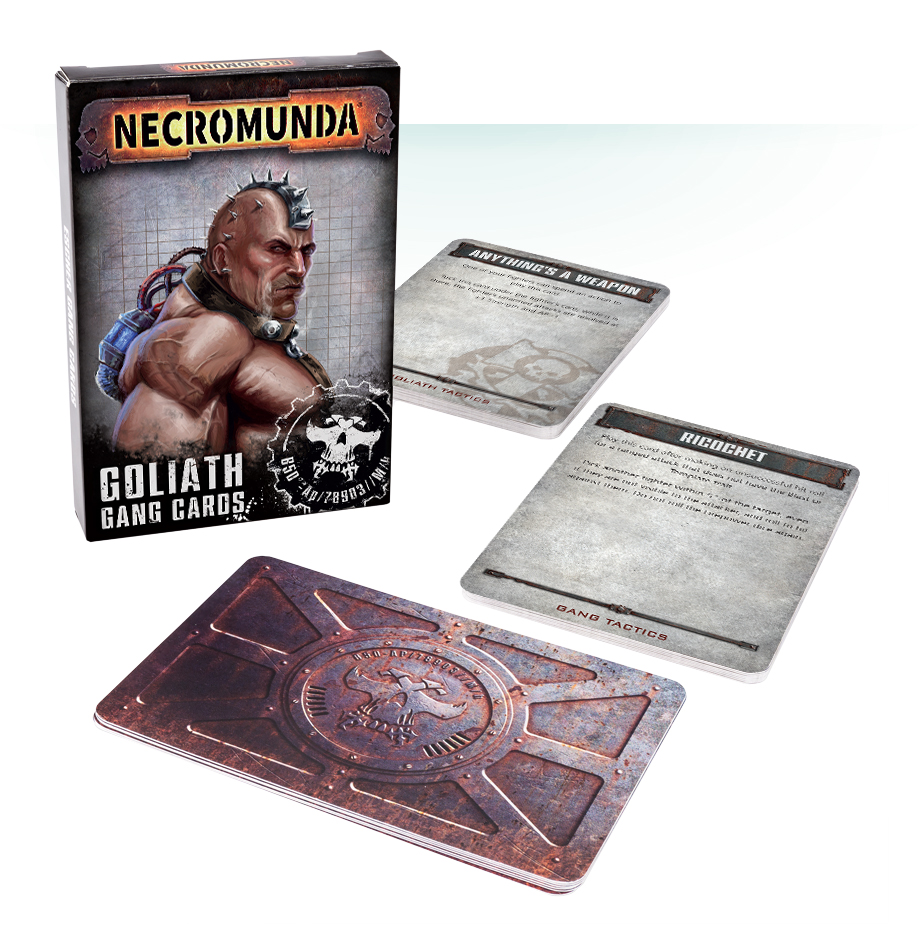 Necromunda: Goliath Gang Tactical Cards
