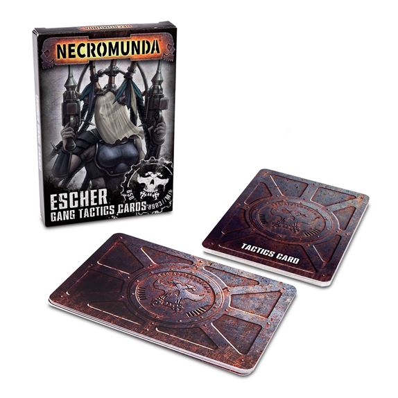 Necromunda: Esher Gang Tactical Cards
