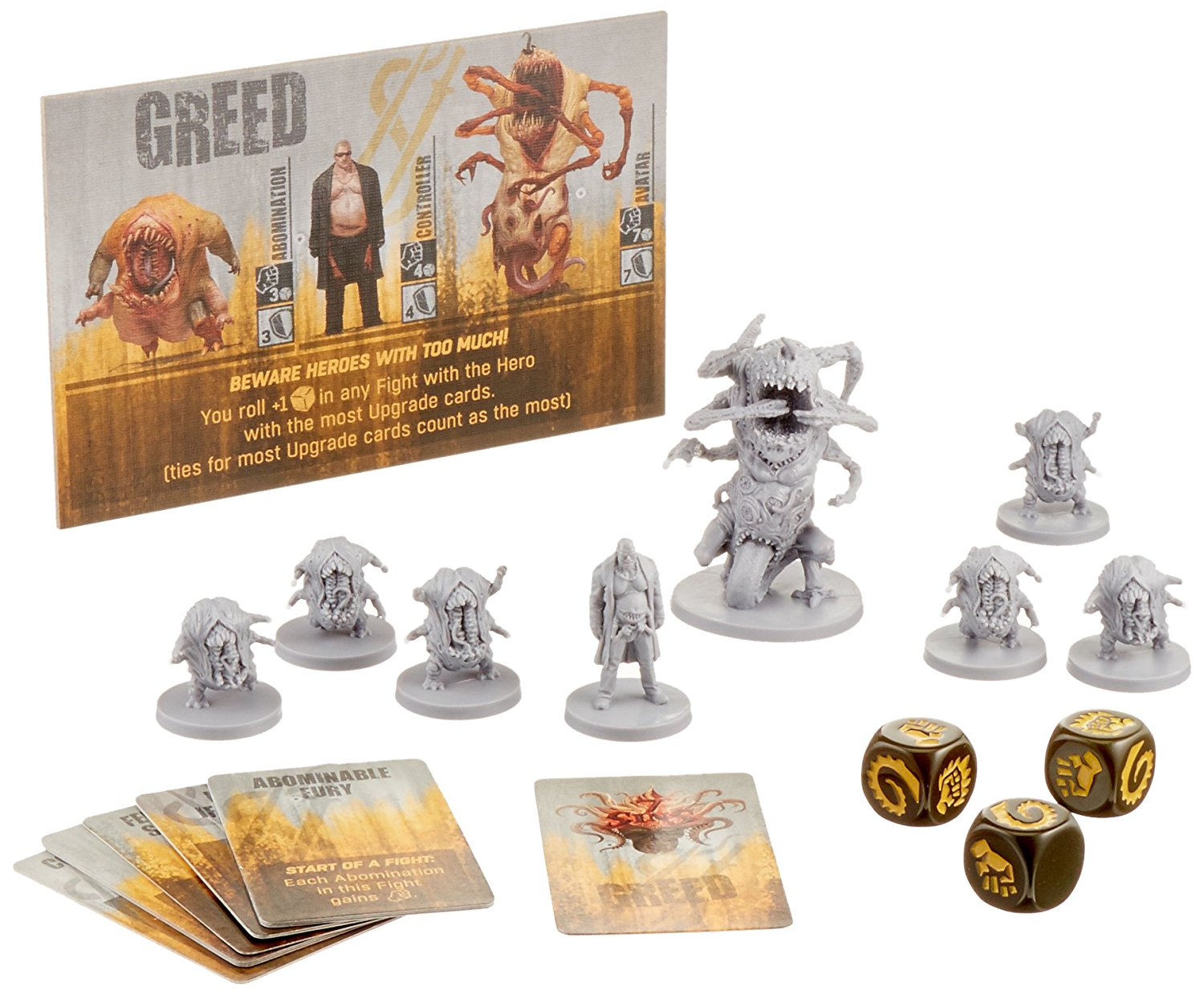 The Others: GREED Expansion set