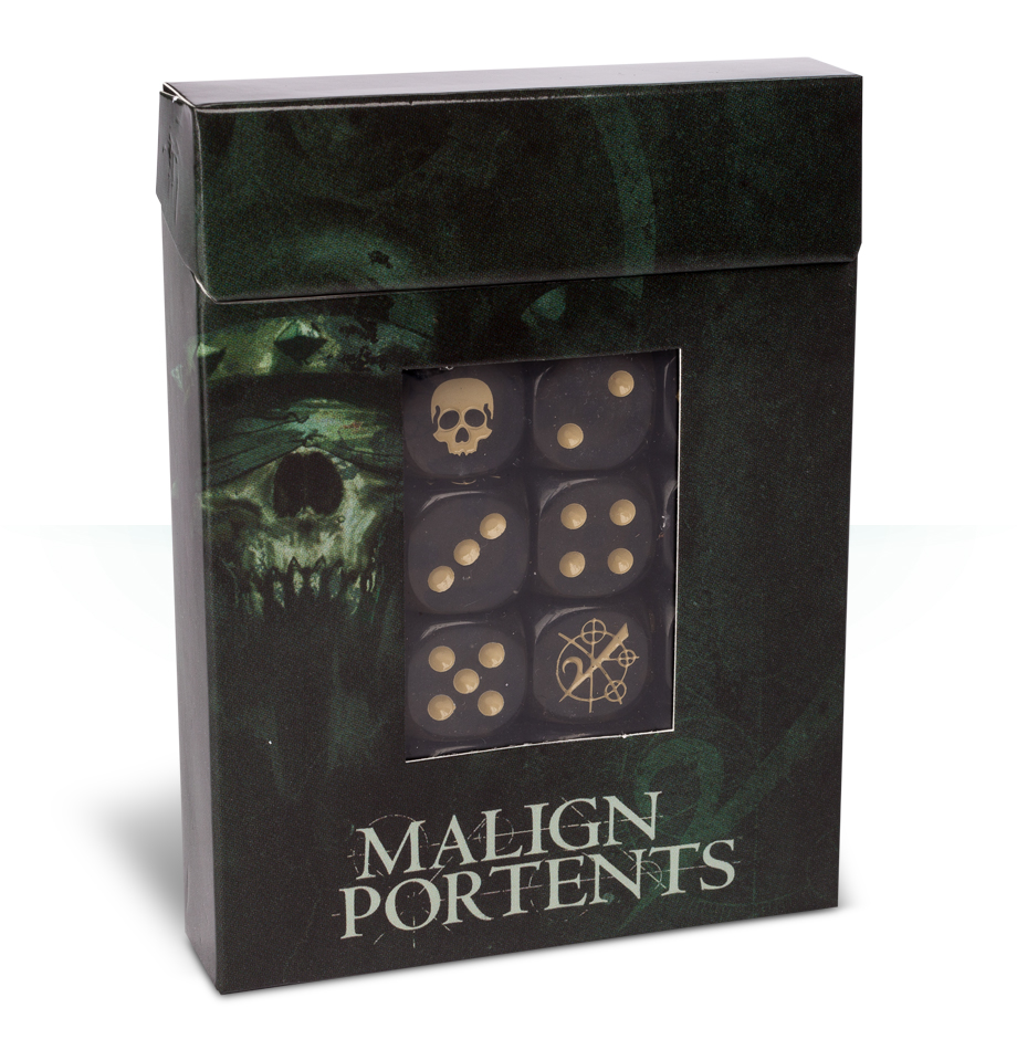 Malign Portents Dice Set