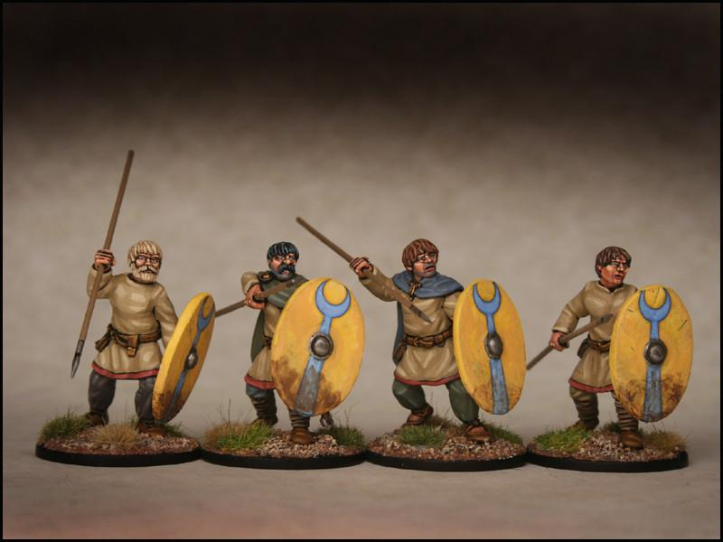 Late Roman Unarmoured Infantry