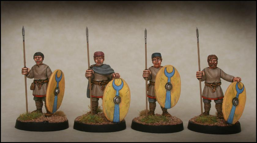 Late Roman Unarmoured Infantry standing