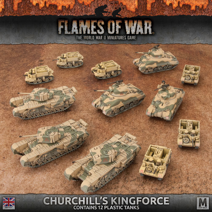 British Churchill's Kingforce Army Deal