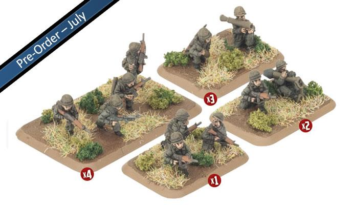 Dutch Armoured Infantry Platoon (x29 Figures)