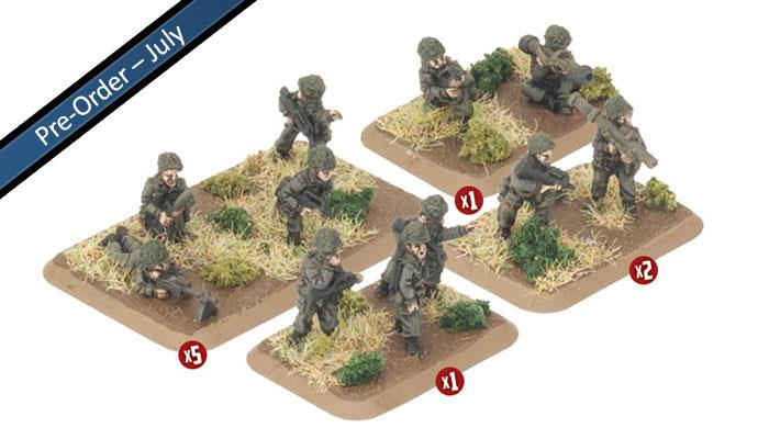 French Infantry Platoon (x29 Figures)