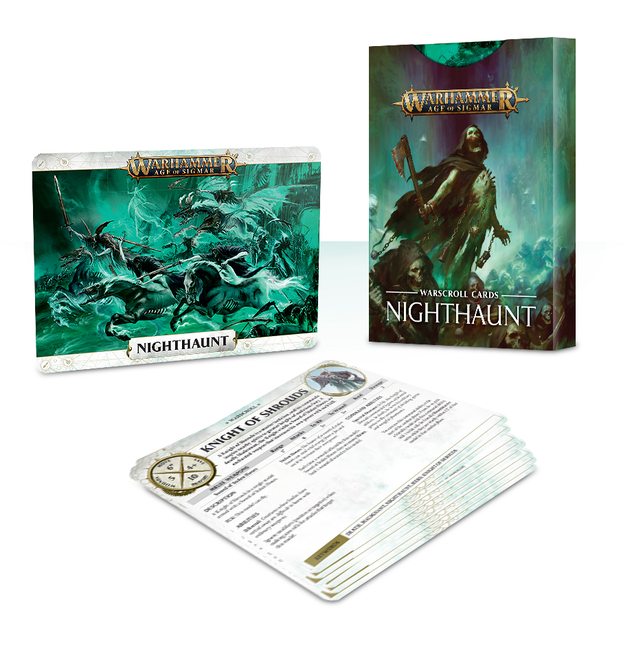 Nighthaunt: Warscroll Cards