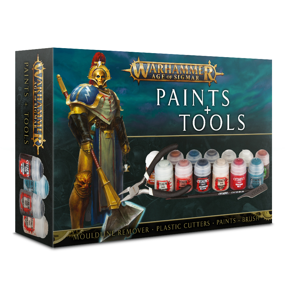 Age of Sigmar Paint & Tool set