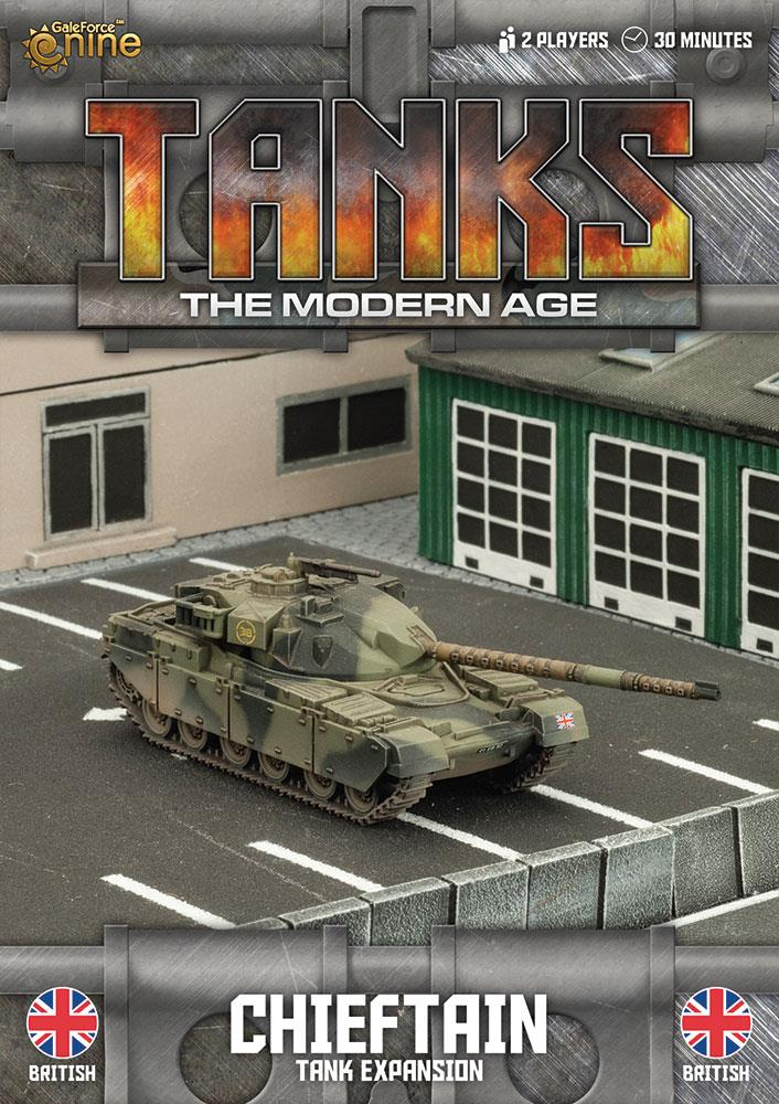 British Chieftain Tanks Expansion